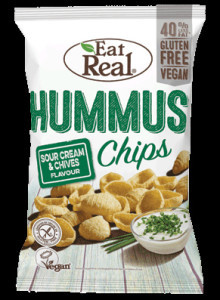 Eat Real Hummus sour cream &chives